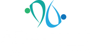 Adapted yoga and pilates logo