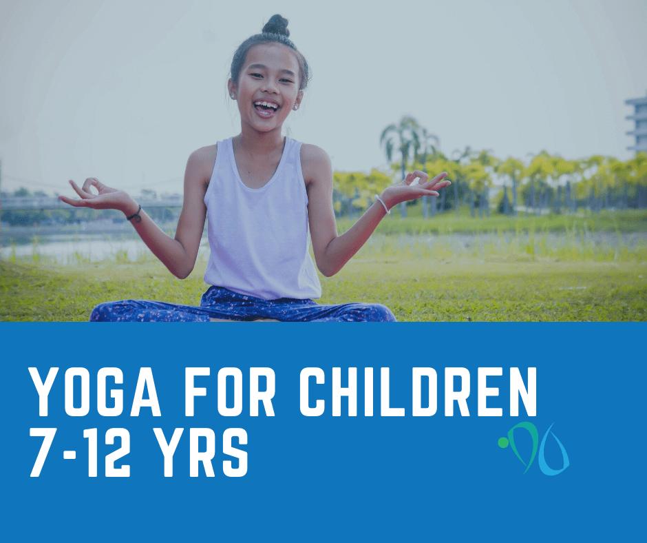 yoga for children 7-12 years